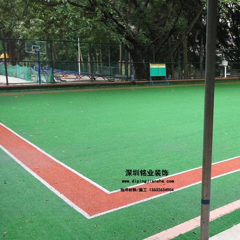 深圳市市政大院人造草门球场案例