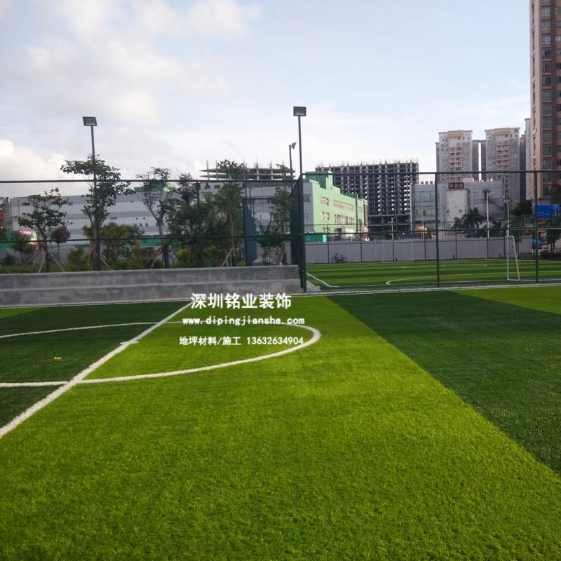 深圳中心路公园人造草足球场案例