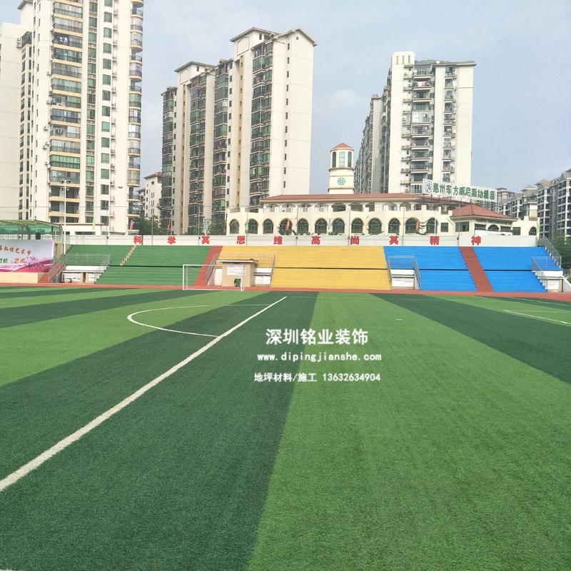 广东省惠州市第一中学人造草足球场