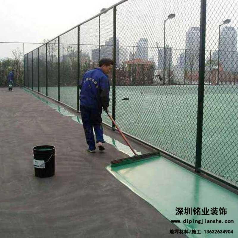 丙烯酸球场地坪施工工艺