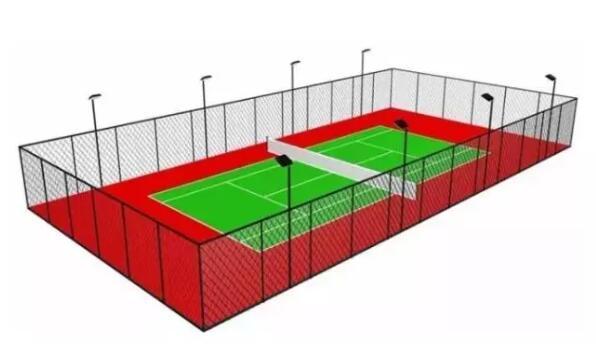 完整的网球场的建造分别有哪些步骤