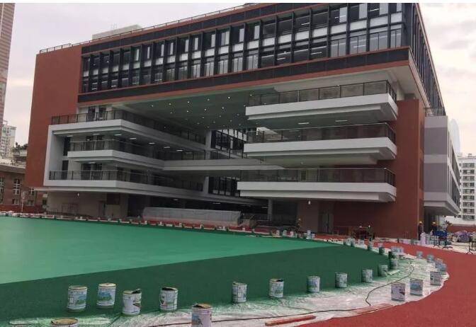 深圳市外国语学校运动场改造工程竣工