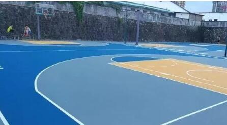 8种常见的丙烯酸篮球场配色方案