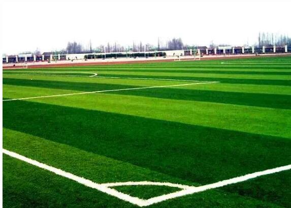 足球场地人造草坪草皮粘接施工工艺