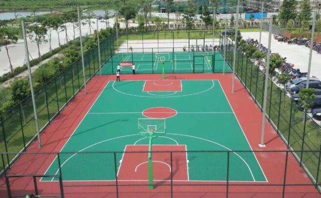 丙烯酸网球场基础处理
