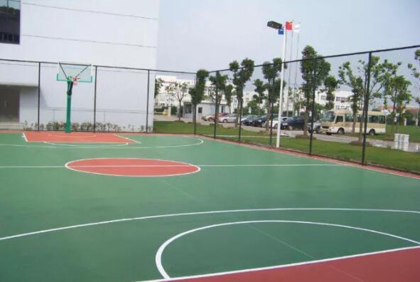 新国标EPDM塑胶篮球场施工方案
