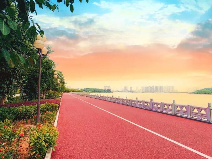 绿道设计—防城港市西湾(倒水坳桥至针鱼岭桥段)步道工程